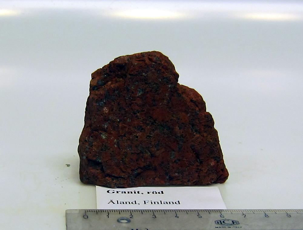 Röd granit åland